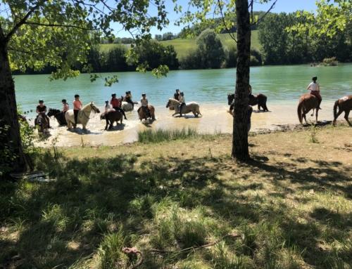 sortie au lac de Sainte colombe de Villeneuve 19/07/2020